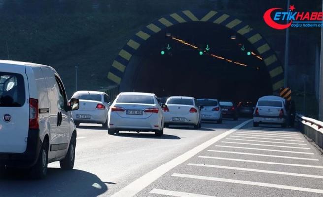 'İstanbul'un Anadolu'ya açılan kapısı'ndan 8 ayda 7 milyon araç geçti