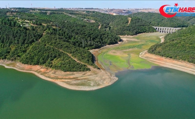 İstanbul'un barajlarındaki su seviyesi yüzde 29'a indi