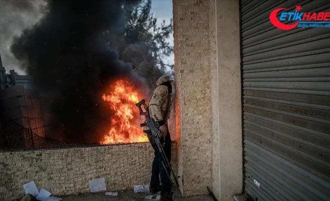 Libya'da Hafter milisleri ateşkesi yine ihlal etti
