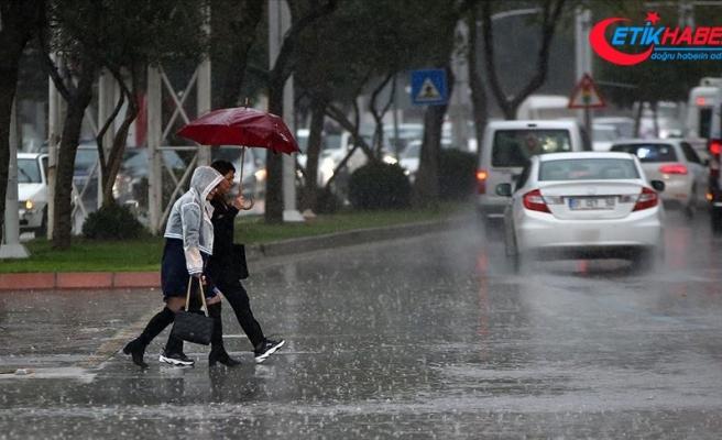 Meteorolojiden sağanak ve kuvvetli rüzgar uyarısı