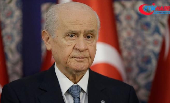 MHP Lideri Bahçeli'den Mesut Yılmaz ve İzmir depremi mesajı