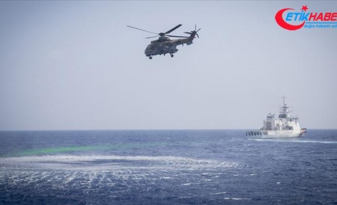 MSB: Libya açıklarında arama kurtarma eğitimi icra edildi