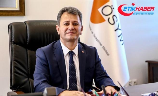 ÖSYM Başkanı Aygün: KPSS ve diğer sınavlarımızda Kovid-19 önlemlerine devam ediyoruz