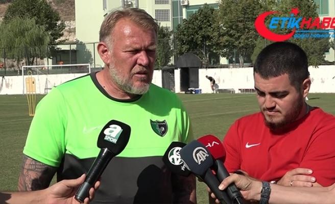 Robert Prosinecki: 'Güzel bir maç olacağını düşünüyorum'