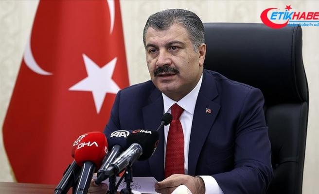 Sağlık Bakanı Koca: Türkiye genelinde yoğun bakım doluluk oranımız yüzde 67