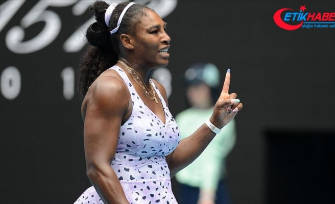 Serena Williams ABD Açık'ta 2. tura yükseldi