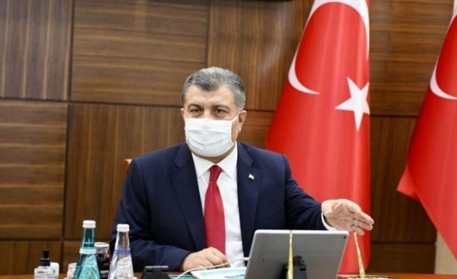 Türkiye'de son 24 saatte 1509 kişiye Kovid-19 tanısı konuldu