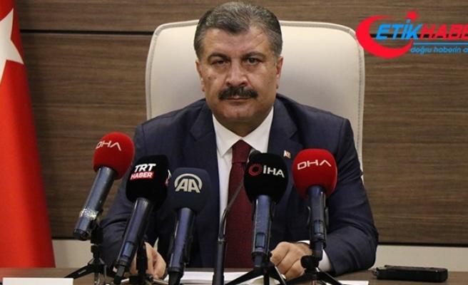 Türkiye'de son 24 saatte 1412 kişiye Kovid-19 tanısı konuldu, 65 kişi hayatını kaybetti
