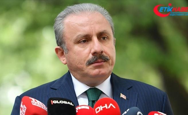 """TBMM Başkanı Şentop: """"Ermenistan savaş suçu işliyor"""""""