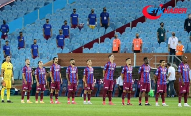 Trabzonspor salgın sürecinde sahasında galibiyeti unuttu
