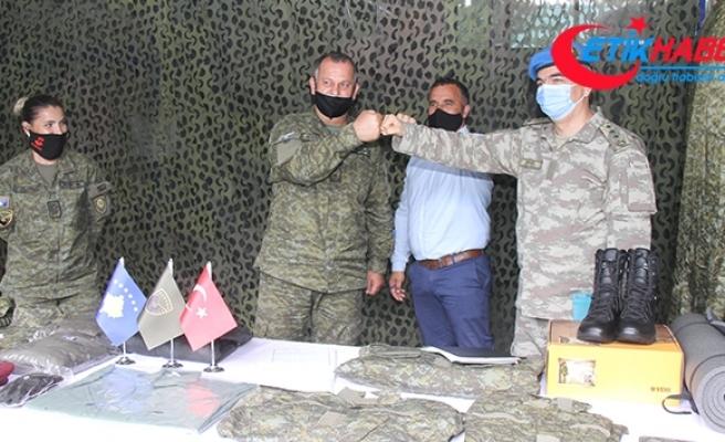 Türkiye'nin, Kosova ordusuna desteği devam ediyor