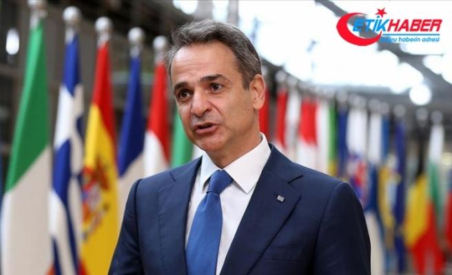 Yunanistan Başbakanı Miçotakis: Türkiye'den somut adım gördüğümüzde görüşmelere başlamaya hazırız