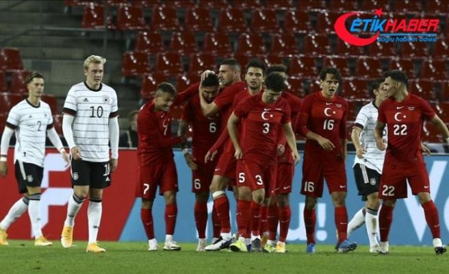 A Milli Futbol Takımı, Almanya ile berabere kaldı