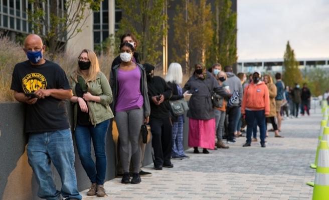 ABD'de başkanlık seçimlerine 8 gün kala 60 milyondan fazla kişi oy kullandı