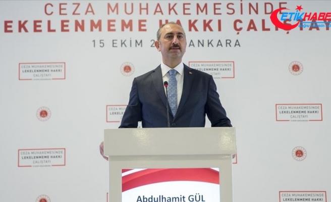 Adalet Bakanı Gül: 2017 eylülden bugüne kadar 261 bin 843 kişi asılsız ihbarlarla lekelenmemiştir