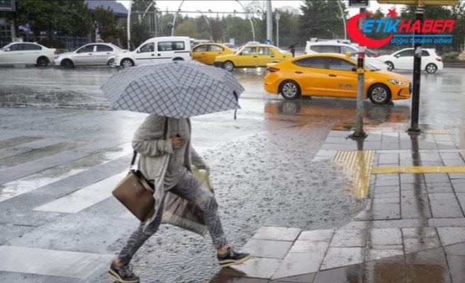 Ankara'da kuvvetli sağanak ve fırtına uyarısı