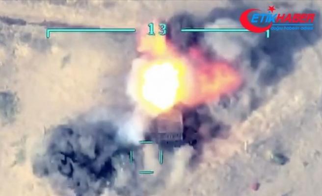 Azerbaycan ordusu, Ermenistan ordusunun havan topu atış noktalarını imha etti