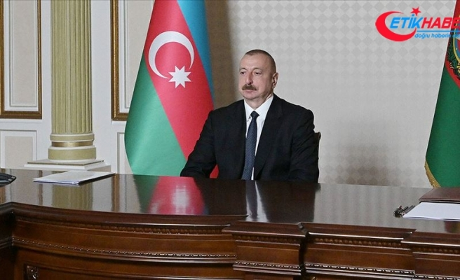 Azerbaycan Cumhurbaşkanı Aliyev: Ermenistan'ın yönetimi tüm bu suçların sorumlusudur