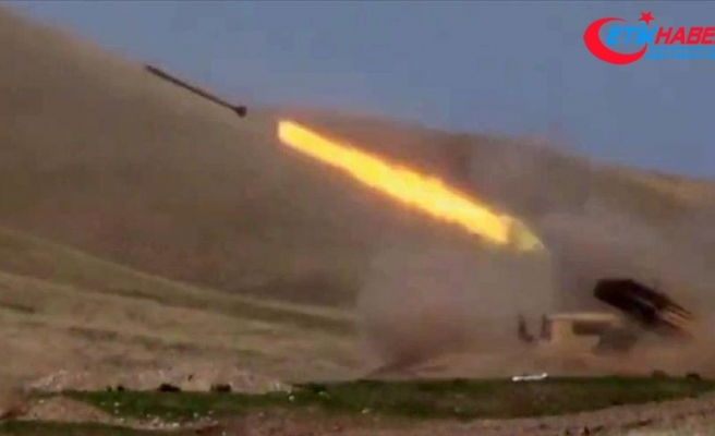 Azerbaycan ordusu Zengilan'ı işgalden kurtardı