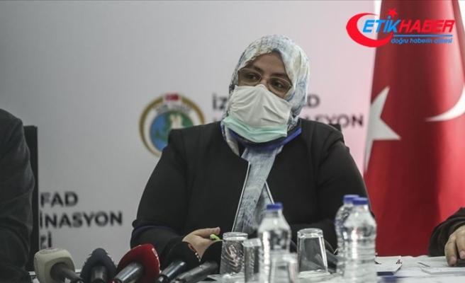 Bakan Selçuk: 8 milyon liralık acil yardım ödeneği bölgeye ulaştırıldı