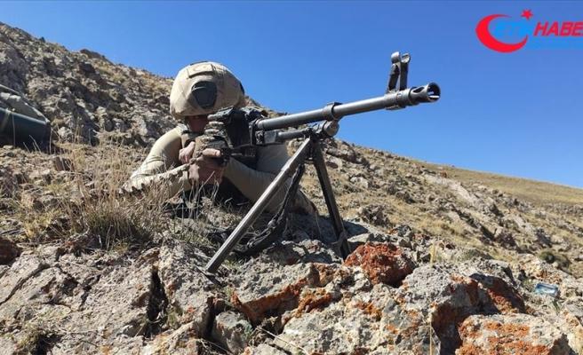 Barış Pınarı bölgesinde 7, Fırat Kalkanı bölgesinde 2 PKK/YPG'li terörist etkisiz hale getirildi