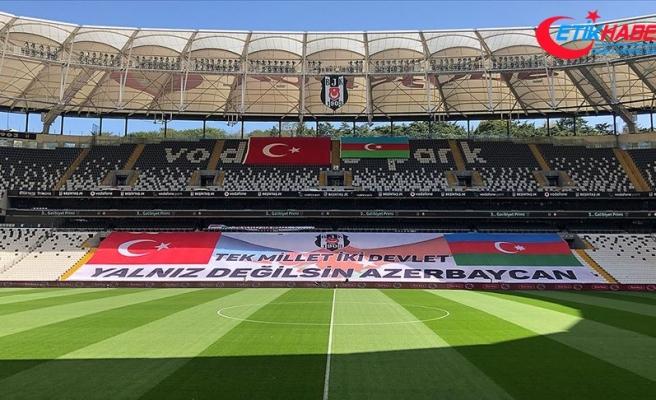 Beşiktaş'tan Azerbaycan'a destek mesajı