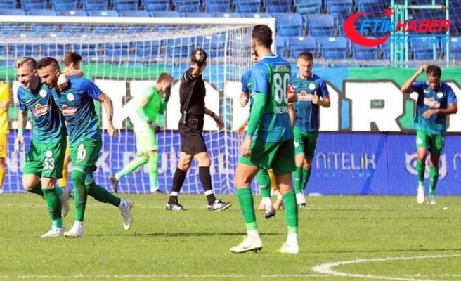 Çaykur Rizespor 3 puanı 5 golle aldı