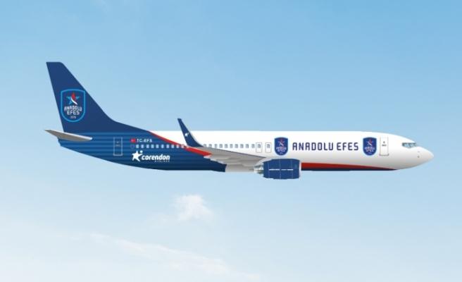Corendon Airlines, Anadolu Efes Spor Kulübü'ne partner oldu