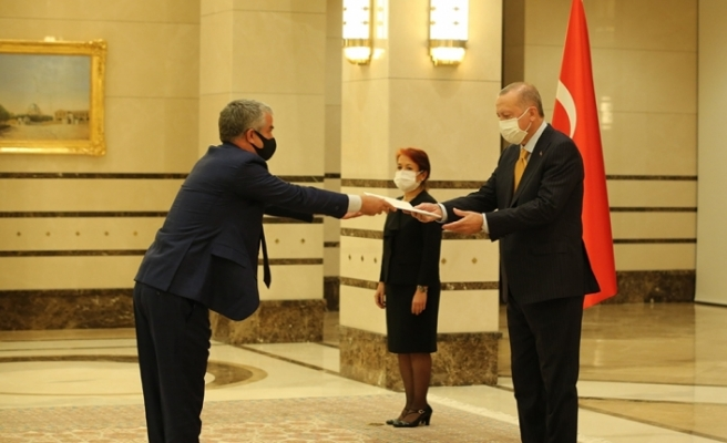 Cumhurbaşkanı Erdoğan, Danimarka Büyükelçisini kabul etti