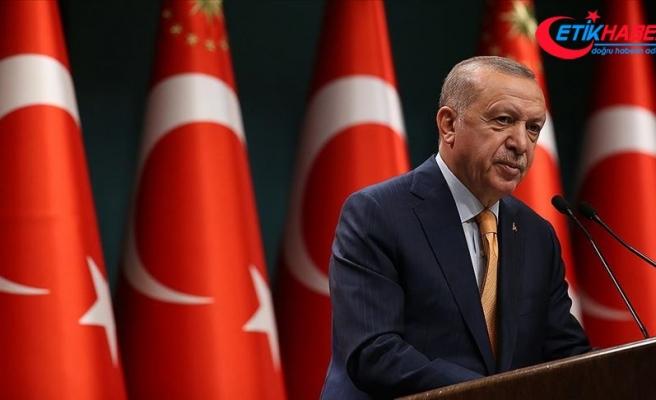 Erdoğan: Kaos hesapları yapanlar dışında hiç kimse Türkiye'nin Körfez'deki mevcudiyetinden rahatsız olmamalıdır
