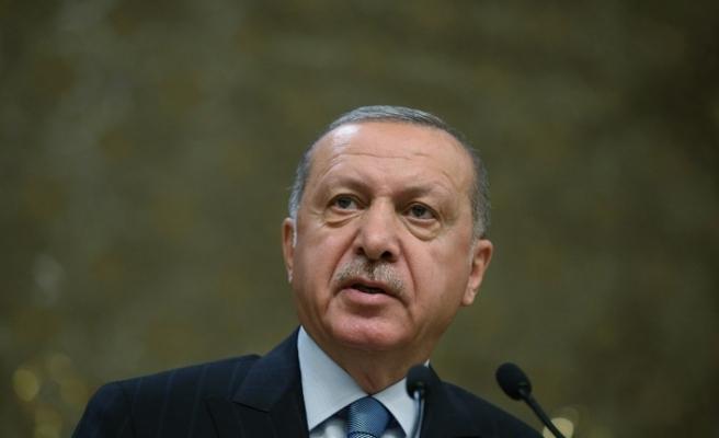 """Cumhurbaşkanı Erdoğan'dan """"ışıklar"""" açıklaması"""