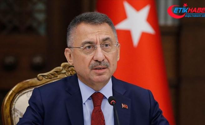 Cumhurbaşkanı Yardımcısı Oktay'dan İzmir depremi mesajı