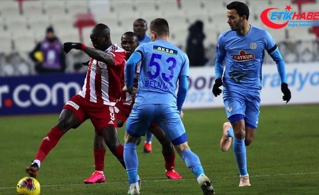 Demir Grup Sivasspor'un konuğu Çaykur Rizespor