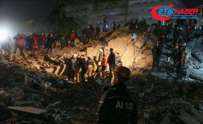 Deprem bölgesinde görevlendirilen personel sayısı 6 bin 49'a ulaştı