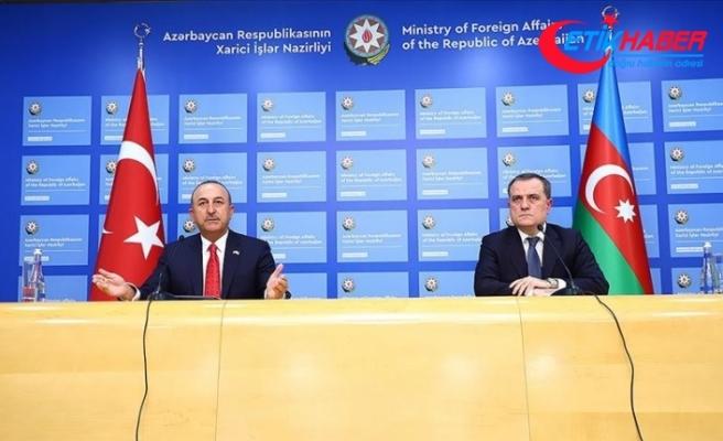 Dışişleri Bakanı Çavuşoğlu: Ermenistan'ın sivil yerleşimlere saldırıları insanlık suçudur
