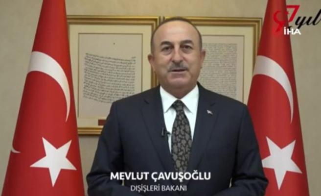 Dışişleri Bakanı Çavuşoğlu'ndan saat 19.23'te Cumhuriyet Bayramı paylaşımı