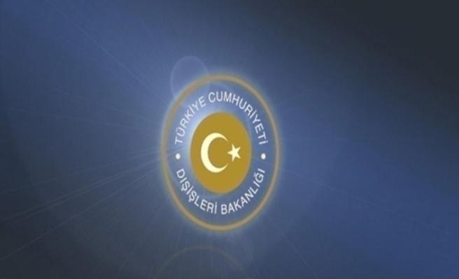 """Dışişleri Bakanlığı, """"Yunanistan'ın Türk düşmanlığından vazgeçmesi gerekir"""""""
