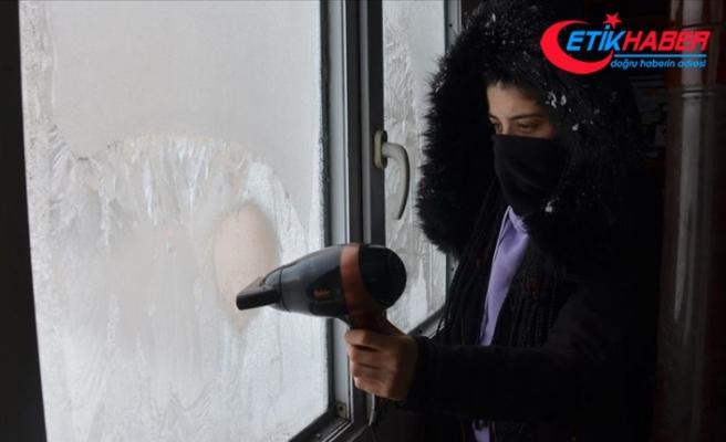 Doğu Anadolu'da gece sıcaklık sıfırın altında 4 dereceye düştü