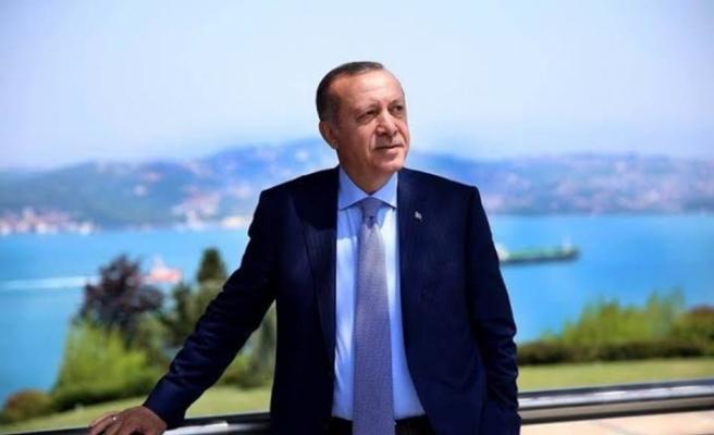 """Erdoğan: """"Bu kadim coğrafyanın içine sokulduğu cendereden kurtulma vakti gelmiştir"""""""
