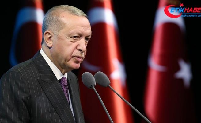 Erdoğan: Kabine değişikliği yönündeki spekülasyonlar, tamamen masa başında uydurulan haberler