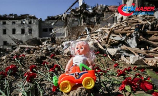 Ermenistan'ın saldırılarında şimdiye kadar 11 çocuk öldü