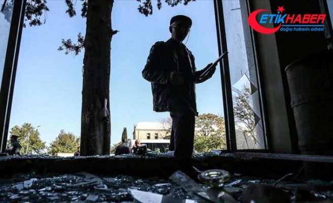 Ermenistan ordusu Hadrut'taki yerleşim yerlerine saldırıyor