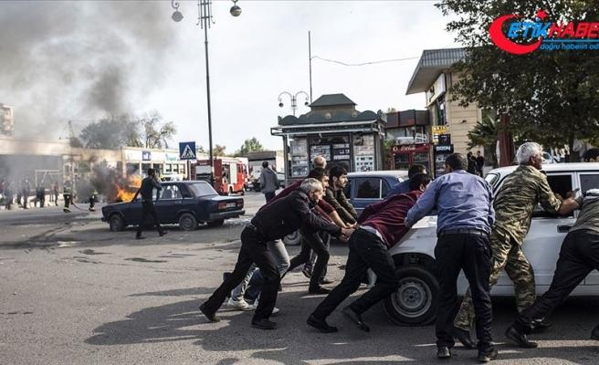 Ermenistan Berde şehir merkezinde sivilleri vurdu: 14 ölü, 40'tan fazla yaralı