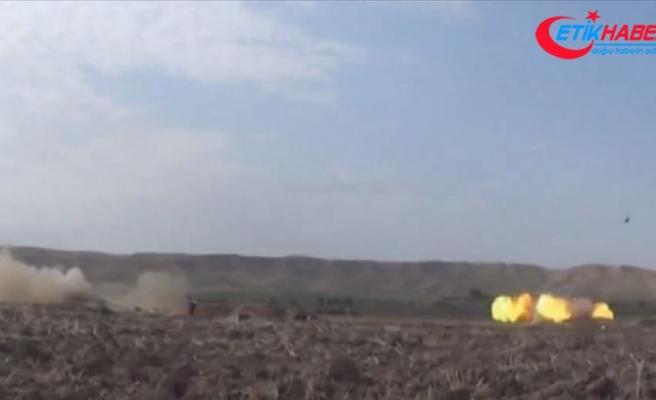 Ermenistan ordusu Azerbaycan'ın Terter kentine 2 binden fazla top mermisi attı
