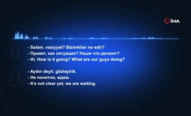 Ermenistan'ın çatışmalarda kullandığı teröristlerin ses kaydını paylaşıldı