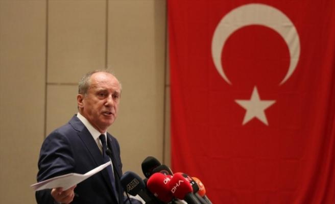 Eski CHP Milletvekili Muharrem İnce, Memleket Hareketi'nin basın toplantısında konuştu: