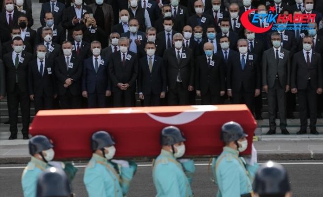 Eski Sağlık Bakanı Osman Durmuş için TBMM'de cenaze töreni düzenlendi