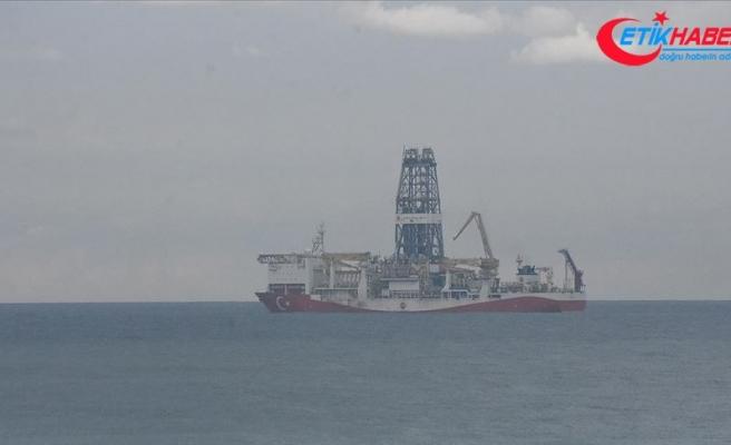 Fatih Sondaj Gemisi bakım için Zonguldak açıklarına geldi