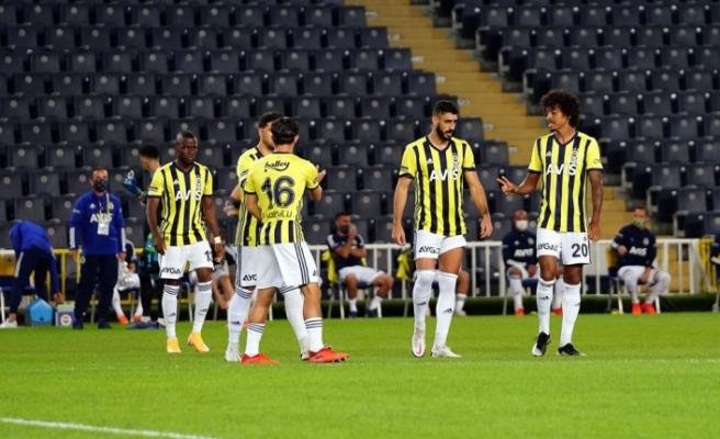 Fenerbahçe'de 5 futbolcu kadroda yok