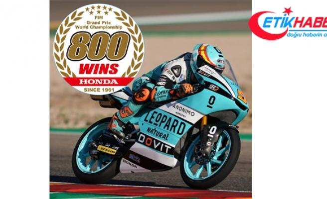 Honda MotoGP'de 800'üncü Grand Prix zaferine ulaştı